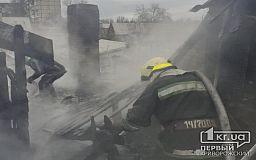 Пожар в Кривом Роге: пострадали ребенок и мужчина
