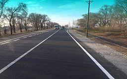 На участке трассы Днепр – Кривой Рог – Николаев завершились ремонтные работы