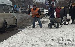 Первый снегопад в Кривом Роге встретили достойно, - Иван Карый