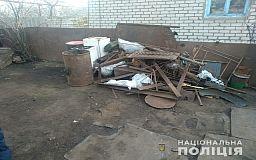 В Широковском районе на территории частного домовладения обустроили незаконный пункт приема металла