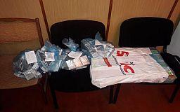 В Кривом Роге в очередной раз на одной и той же точке задержали торговца контрафактными сигаретами