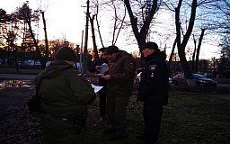 За 24 часа криворожские нацгвардейцы задержали 15 человек, подозреваемых в совершении преступлений