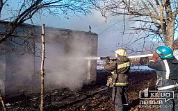 Пенсионер получил ожоги в результате пожара на даче в Кривом Роге