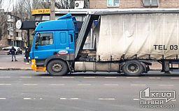 В Кривом Роге грузовик на центральном  проспекте применил экстренное торможение, – свидетели