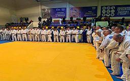 Золото и серебро с Международного турнира привезли криворожские дзюдоисты