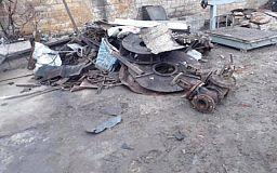У криворожанки во дворе обнаружили тонны металлолома