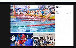 Пловцов из Сыктывкара использовал криворожский член исполкома для рекламы «Европейского города спорта»