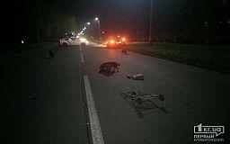 В Кривом Роге разыскивают свидетелей смертельной аварии