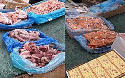 Мясо, рыба и молочка: в Кривом Роге продолжается борьба со стихийными рынками