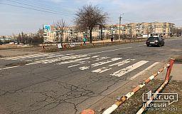 В Кривом Роге на светофоре автобус сбил женщину