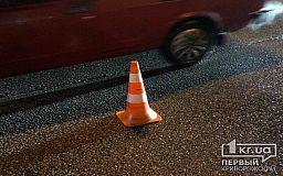 В Кривом Роге мужчина, который перебегал дорогу на красный свет, угодил под колеса авто