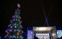 Открытие главной елки в Кривом Роге и районные праздники, – расписание