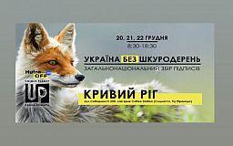 ХутроOFF: у Кривому Розі зберуть підписи на підтримку законопроєкту щодо заборони шкуродерень в Україні