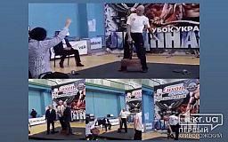 Криворожанин защитил звание мастера спорта международного класса и завоевал золотые медали на Кубке Украины по армлифтингу