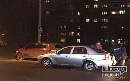 В спальном районе Кривого Рога столкнулись Volkswagen и Chery