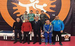 Серебро и бронзу завоевали криворожане на Кубке Украины по греко-римской борьбе