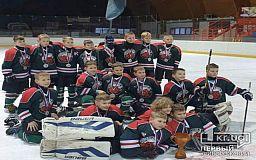 Криворожские хоккеисты завоевали серебро на турнире в Словакии