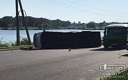 ДТП в Кривом Роге: маршрутка перевернулась после столкновения с легковушкой, - свидетели