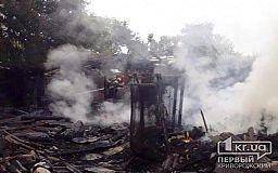 В Кривом Роге случился масштабный пожар, сгорело 10 сараев