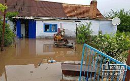 В Широком река вышла из берегов и затопила 20 жилых домов