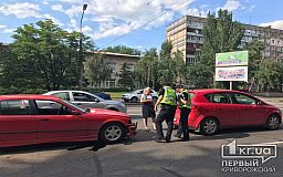 На месте концентрации ДТП в Кривом Роге снова случилась авария