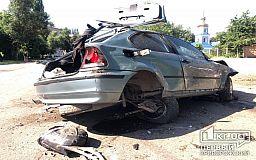 ДТП в Кривом Роге: BMW перевернулось несколько раз, водитель скончался