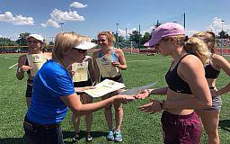 Юные легкоатлетки из Кривого Рога стали призерками областного чемпионата