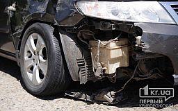 ДТП в Кривом Роге: на объездной дороге не разминулись два автомобиля