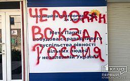Чемодан, вокзал, Россия: в Кривом Роге неизвестные напали на офис одной из политических партий