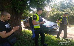 В Кривом Роге автомобилист пытался скрыться от полицейских, - свидетели