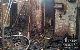 В Кривом Роге пенсионер получил ожоги во время пожара