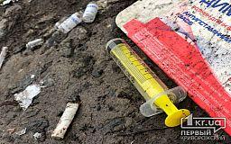 За месяц в Кривом Роге зарегистрировали сотню фактов хранения наркотиков