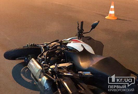 Мотоциклист в Кривом Роге сбил пешехода