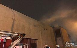 Во время пожара в здании бывшего «Современника» в Кривом Роге никто не пострадал