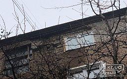 До конца недели в Кривом Роге обещают провести ремонт в рассыпающемся по частям доме