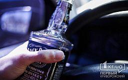 За неделю в Кривом Роге полицейские задержали более 50 автомобилистов в состоянии алкогольного опьянения
