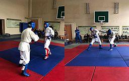 В Кривом Роге состоялись соревнования по рукопашному бою среди военнослужащих