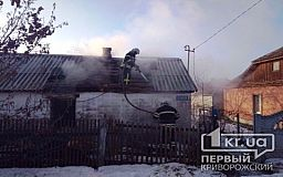Недалеко от Кривого Рога пенсионер погиб во время пожара
