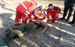 В Кривом Роге рыбак провалился под лед и умер