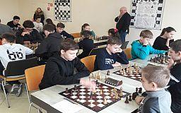 Белая ладья: в Кривом Роге состоялся шахматный турнир для школьников