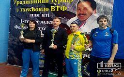 Тхэквондисты из Кривого Рога выбороли 10 медалей на областном турнире