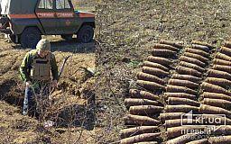 Более 50 боеприпасов уничтожили под Кривым Рогом спасатели