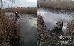 В Криворожском районе утонул рыбак ИСПРАВЛЕНО