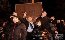 Пять лет понадобилось криворожским чиновникам, чтобы решиться окончательно избавиться от Ленина