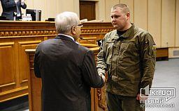 Сыну погибшего в бою за Лисичанск Генерала Радиевского вручили отличие «За вільну Луганщину»