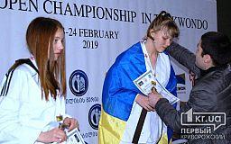 Тхэквондисты из Кривого Рога выбороли медали на Международном турнире