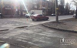 В Кривом Роге на пешеходном переходе сбили ученицу возле школы