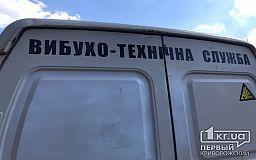 В Криворожском районе обнаружили снаряд времён Второй мировой войны