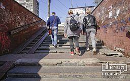 Подземка на 95 квартале в Кривом Роге рассыпается на части