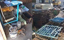 1,5 тонны черного металла, 48 кило алюминия: криворожанка организовала дома пункт приема металлолома